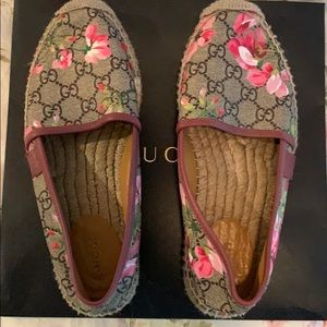 Gucci Women's Bloom GG Espadrilles Pink - size 37